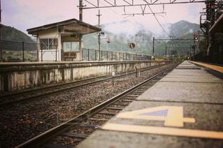田舎の駅の写真・画像素材[809300]