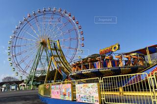 日立海浜公園の観覧車の写真・画像素材[1020323]