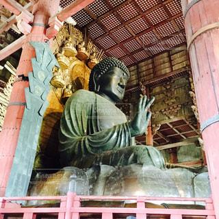 奈良の大仏の写真・画像素材[809838]