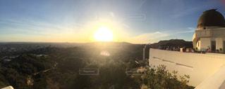 ハリウッドの夕陽の写真・画像素材[810426]