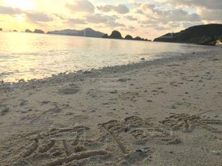 座間味のビーチの写真・画像素材[958414]