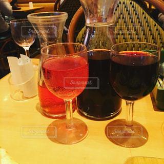サイゼリアのワインの写真・画像素材[811032]