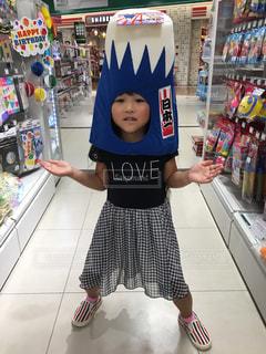 富士山をかぶる娘 - No.811079