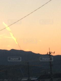 背景の夕日の写真・画像素材[811162]