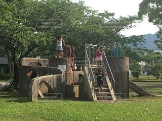公園の人々 のグループの写真・画像素材[811406]