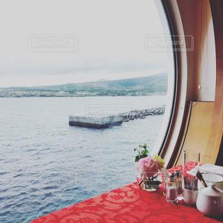 客船の窓からの写真・画像素材[812577]