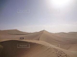 砂漠の道の写真・画像素材[812789]