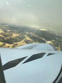 着陸の写真・画像素材[814760]