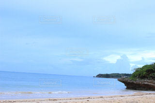 海と島と沖縄の写真・画像素材[814232]