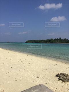 砂浜のビーチの写真・画像素材[814891]