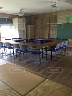 学校の教室の写真・画像素材[815633]