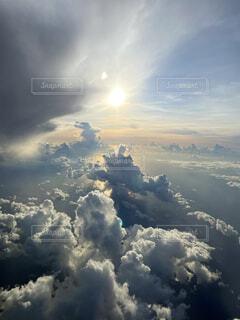 夏の空の写真・画像素材[4646063]