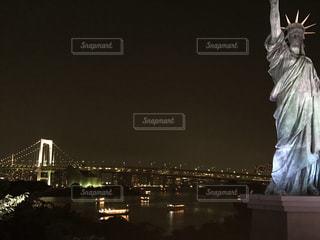 お台場夜景の写真・画像素材[1600629]