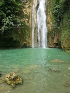 カワサンの滝の写真・画像素材[817591]