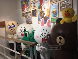 グッズ人形のグループの写真・画像素材[815282]