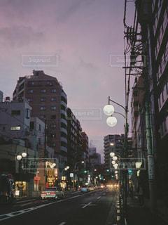 街の通りのビューの写真・画像素材[815499]