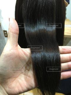 ツヤのある髪の写真・画像素材[903344]