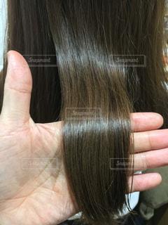 ツヤのある髪毛 艶髪の写真・画像素材[903350]