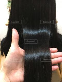 健康的な艶のある髪の写真・画像素材[903367]