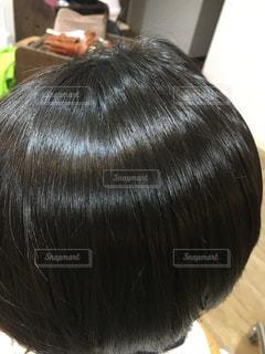 ツヤのある髪 バージン毛の写真・画像素材[903368]