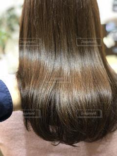 ツヤのある髪の写真の写真・画像素材[1049936]