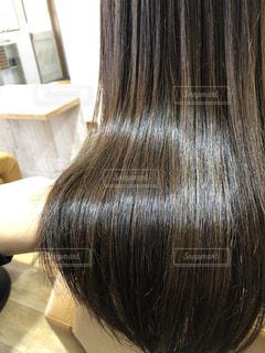 ツヤツヤの髪の写真。の写真・画像素材[1049938]