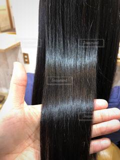 健康的な髪の毛を持つ写真の写真・画像素材[1159096]