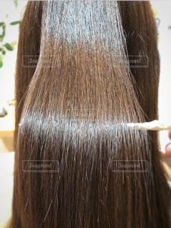 ツヤのある美髪の写真の写真・画像素材[1563482]