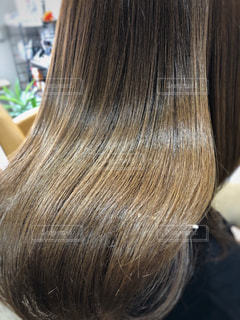 ツヤツヤサラサラの髪の毛の写真・画像素材[1860824]