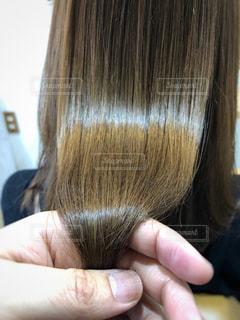 ツヤ髪の写真の写真・画像素材[1860826]