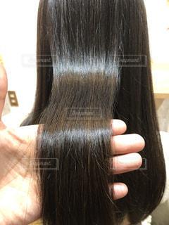髪のアップ写真ですの写真・画像素材[2180832]