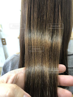 ツヤのある髪の写真の写真・画像素材[2186303]