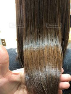 美髪のアップ写真ですの写真・画像素材[2223099]