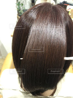 ツヤのある髪の写真ですの写真・画像素材[2258405]