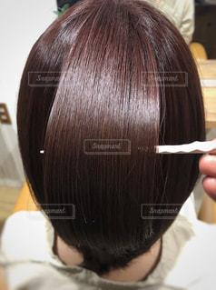 ツヤ髪の写真の写真・画像素材[2258408]