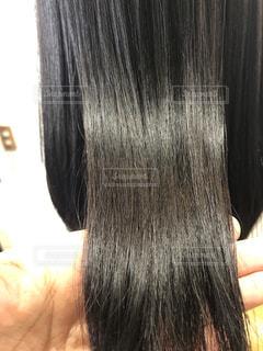 ツヤのある髪の写真の写真・画像素材[2376815]