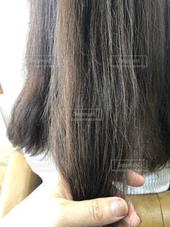 傷みのあるダメージヘアーの写真・画像素材[3120713]