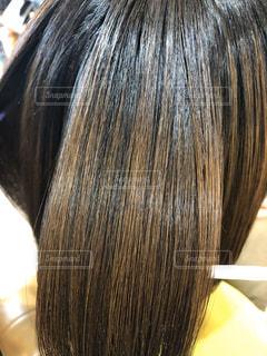ツヤのある髪の写真の写真・画像素材[3120720]