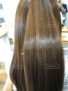 髪質改善されたキレイな髪の写真・画像素材[3120718]