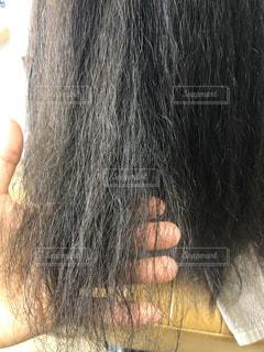 癖毛の強い髪の写真の写真・画像素材[3173669]