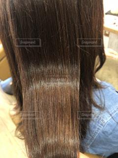 ツヤのある髪の写真の写真・画像素材[3194216]