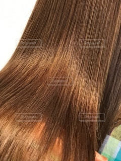 ツヤ髪の写真です。の写真・画像素材[3460541]