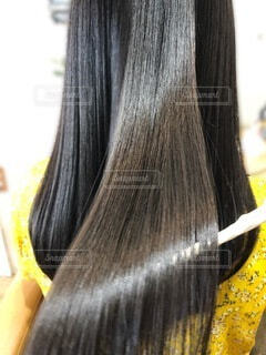 ツヤ髪のロングヘアー写真の写真・画像素材[3615989]