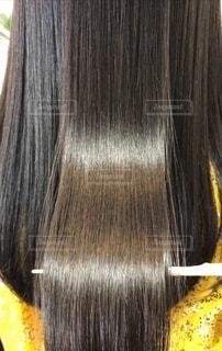 健康的なツヤのある髪の写真・画像素材[3639777]