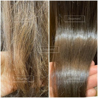 髪質改善の写真・画像素材[4095204]