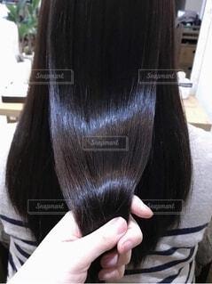髪質改善の写真・画像素材[4105787]