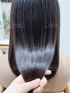 ツヤ髪の写真・画像素材[4642695]