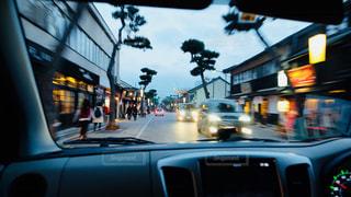 車の中からの風景の写真・画像素材[817322]