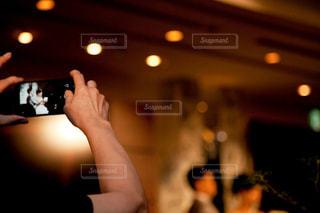 結婚式の1シーンの写真・画像素材[819925]