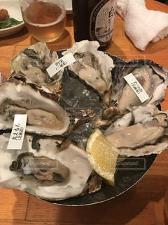 牡蠣 盛り合わせの写真・画像素材[819565]